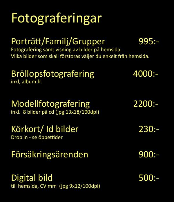 fotograferingar